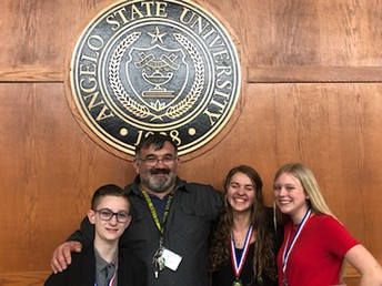 Junior High Students Advance to State