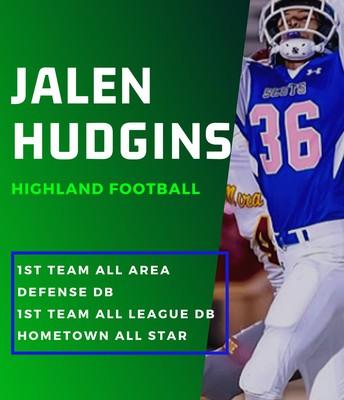 Senior Jalen Hudgins