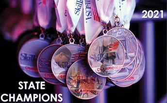 2021 SkillsUSA State Champions medals