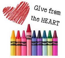 Recolección de libros para colorear y crayones