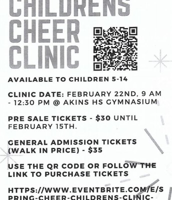 Childrens Cheer Clinic