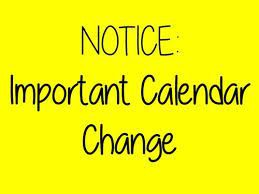 School Calendar Change for Friday, April 2 for Meetinghouse, Westminster and Briggs ONLY