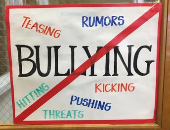 Veeder is against bullying!