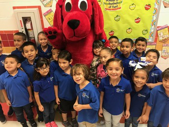 Mrs. Rivera's class did not want Clifford to leave!