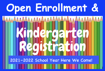 Registration for the 2021-22 School Year: