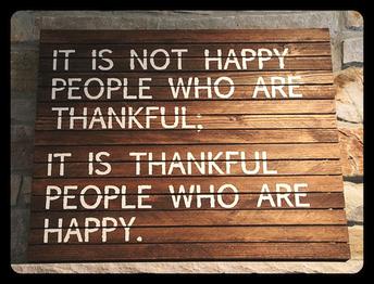Gratitude Section