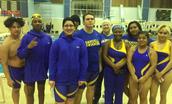 Swim Team Represents at Local Swim Meet