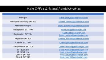 Main Office - School Administration