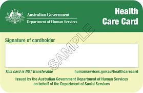 Health Care Cards