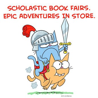 Scholastic Book Fair starts on Monday (ONLINE ONLY)
