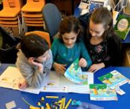 Booth Free School's Lego Club, Team Roxy!