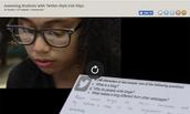Assessing with Twitter Slips