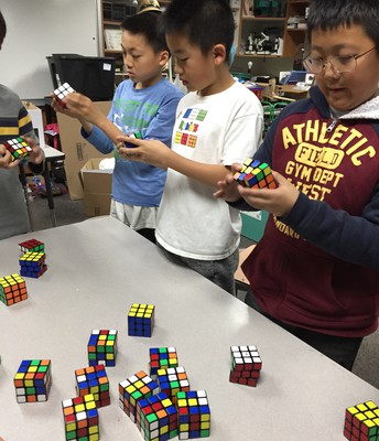 Science - Rubik's Cube Competition
