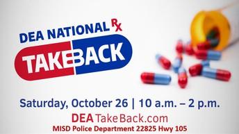 10/26 Drug Takeback