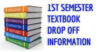 1st Semester Textbook Return