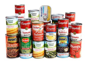 Service Project:  Canned Food Drive, Sept. 9th - Sept. 20th