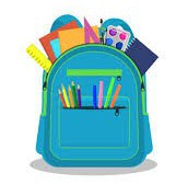 How does my child collect his/her belongings at school since in-person learning will not be taking place?