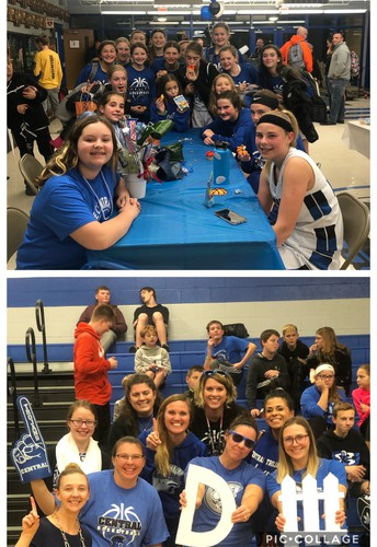 Girls Basketball 8th Grade Night