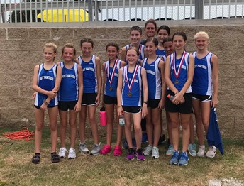 Junior High Girls Place 2nd in the LeTourneau Backwoods Gallup