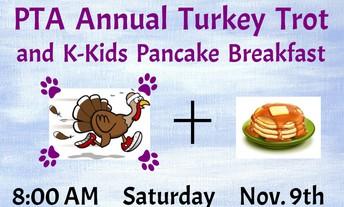 Turkey Trot & K-Kids Pancake Breakfast