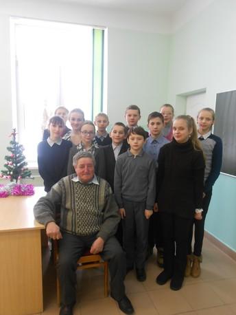 Інтэрв'ю з былым дырэктарам школы Кратом Паўлам Уладзіміравічам