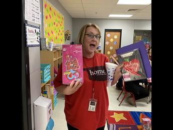 Mrs. Cearley, Prize Winner!
