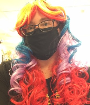 Crazy Hair for Halloween