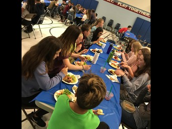 Student Luncheons were a great success this year : )