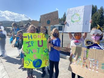Environmental leaders celebrating Earth Day