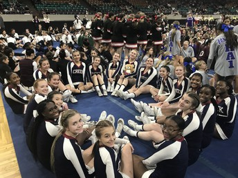Cheer Finishes Strong at State