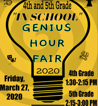 Genius Hour Fair 2020