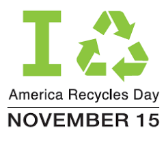 America Recycles Day on Thursday, November 15th