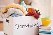 Spring Cleaning?  Donate & Support BPE