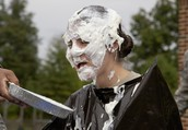 Pie In The Face for Make A Wish Foundation - TUESDAY