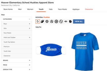 Check out our webstore! order your Husky gear!
