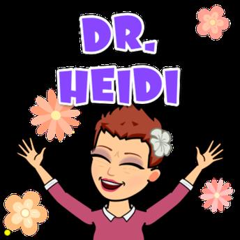 Dr. Heidi's Happenings