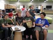 October Golden Trash Can Award Winners- Mrs. Reed's Class