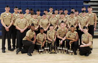 JROTC Drill Team Wins Championship