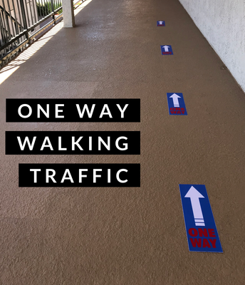 No Cross Walkways