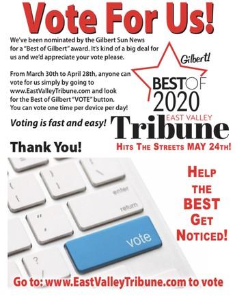 Best of Gilbert 2020 - Vote Now