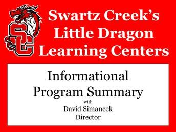 2018-2019 Program Summary:  New Informational Video