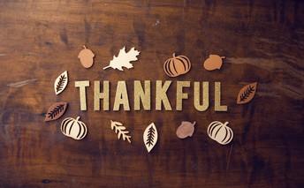 Feeling Thankful!