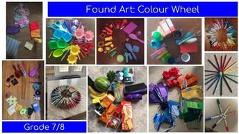 Grade 7/8 Colour Wheel Artwork!