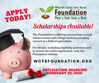 WCFBF Announces 2020 Scholarship Program