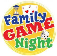 Family Game Night - February 12 - 5:30 to 7:30 p.m.