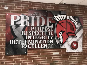 Core Values Displayed for ALL Stakeholders at Antioch