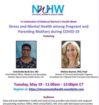 8. Webinar: Stress and Mental Health among Pregnant and Parenting Mothers during COVID-19