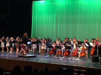 Grade 4 & 5 Orchestra Performance on Tuesday night