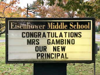 Congratulations, Principal Gambino!