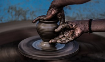 O LORD, you are our father; we are the clay and you the potter: we are all the work of your hands.